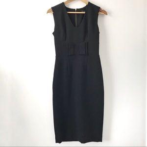🍂 Sandra Angelozzi Women's Career Black Dress 🍂